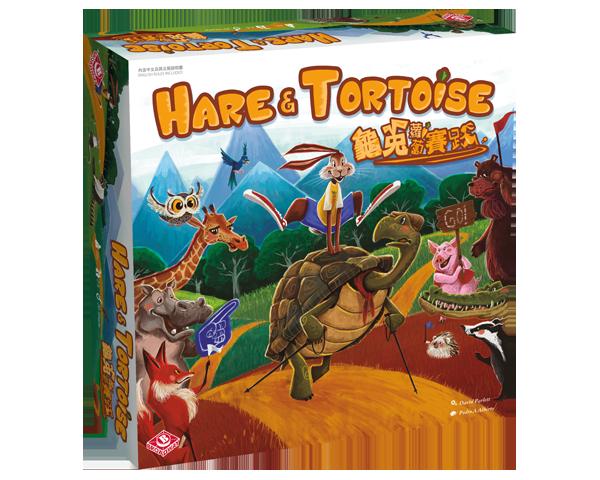 Hare and Tortoise 龜兔蘿蔔賽跑