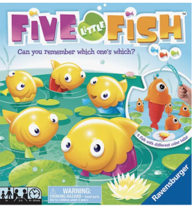 5 little fish